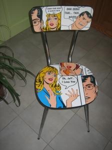 Chaise BD de Rodolphe