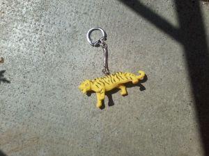 Un tigre et ses rayures